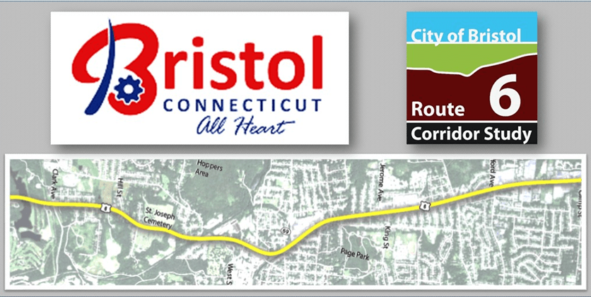 Bristol Connecticut All Heart and Map