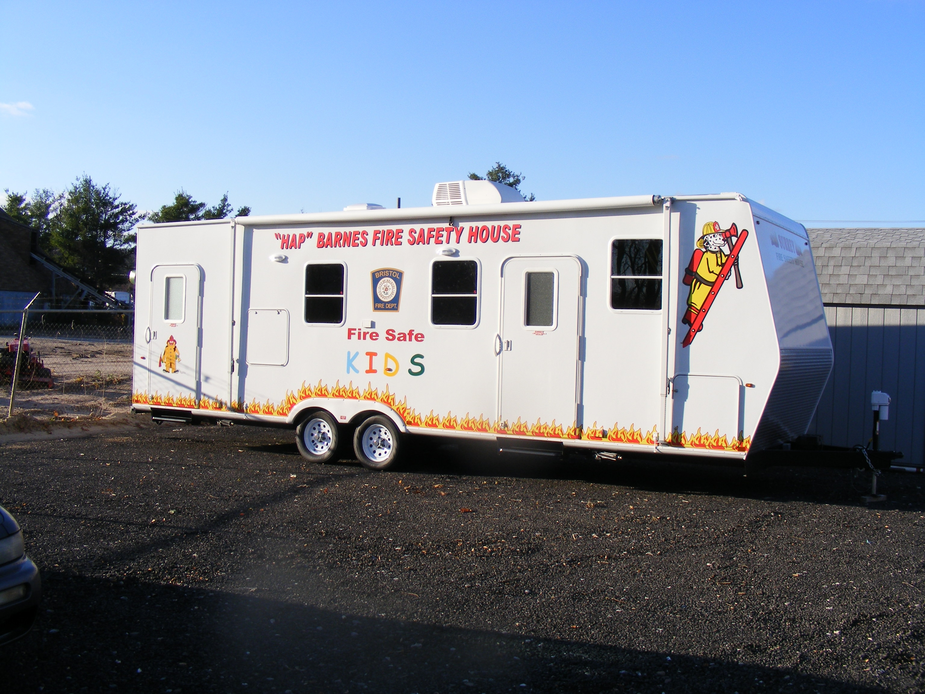 Bristol ct official website fire prevention for Fire safety house